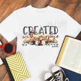 Created with Purpose, Christian Shirt, Created with Purpose Shirt