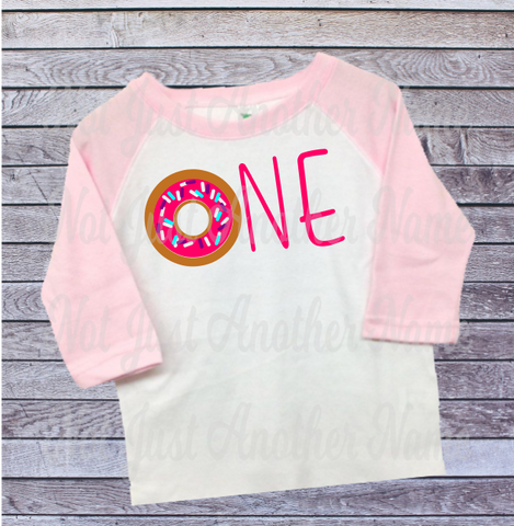 Donut Birthday Shirt, First Birthday Shirt, 1st Birthday Shirt, Donut Birthday, Donut Party, Birthday Girl, Birthday Girl Shirt