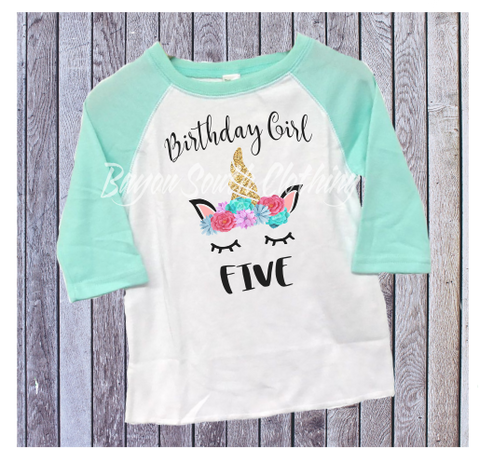 Unicorn Birthday Shirt, Unicorn Shirt, Unicorn Birthday, Unicorn Party, Birthday Girl, Birthday Girl Shirt
