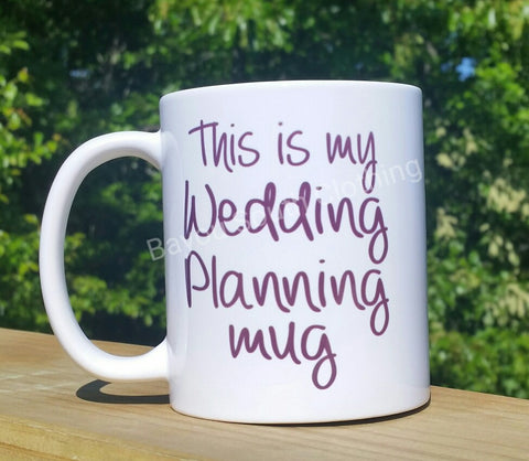 Wedding Planning Coffee Mug