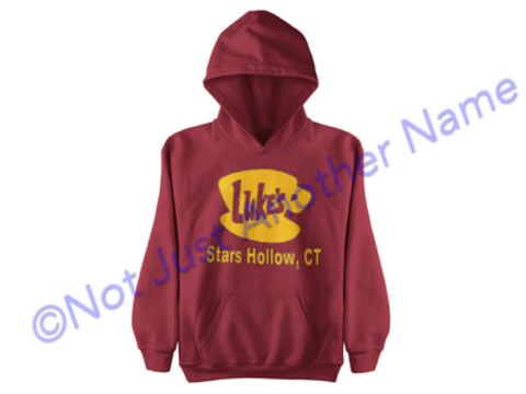 Luke's Diner Hoodie - Gilmore Girls Hoodie - Stars Hollow Connecticut - Lorelai – Rory - Luke's Diner - Luke - Gilmore Girls Shirt - Coffee