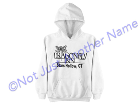 Dragonfly Inn Hoodie - Gilmore Girls Hoodie - Stars Hollow Connecticut - Lorelai - Rory - Sookie - Dragonfly Inn - Dragon Fly Inn - Gilmore