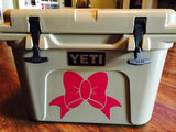 Custom Yeti Cooler Decal, Monogram Decal, Personalized Cooler Decal, Yeti Decal, Cooler Decal