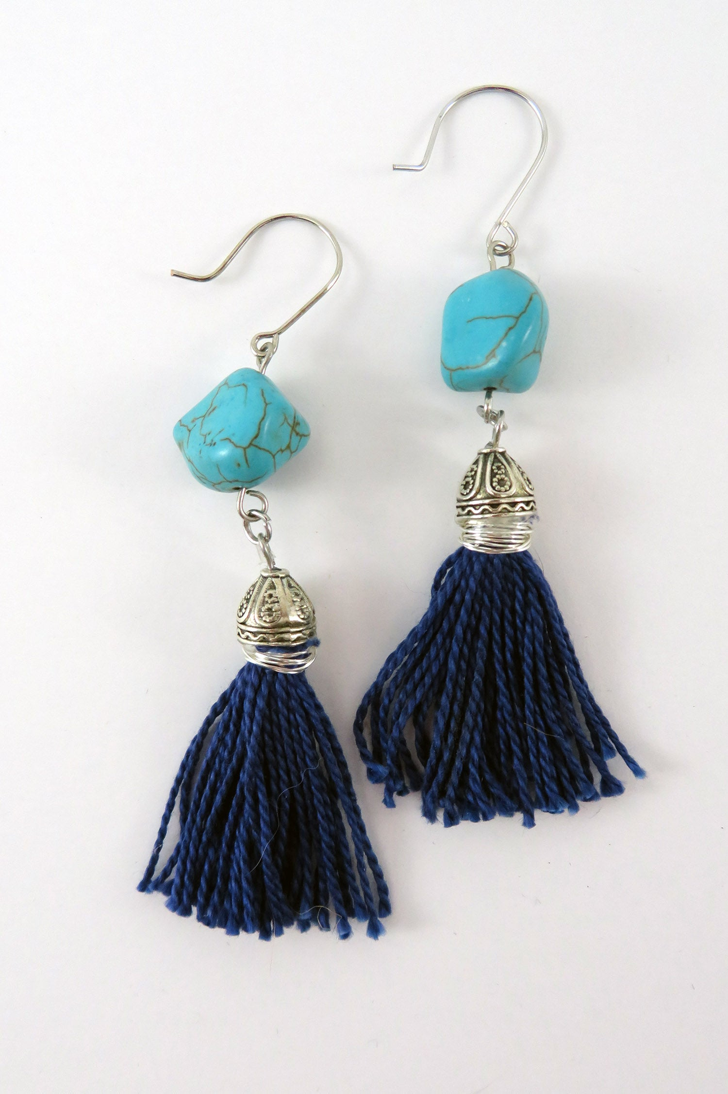 Hammer and Heart Boutique Handcrafted Women's Jewelry Made in the USA Beaded Earrings Gifts for her