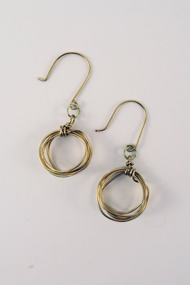Paige Hoop Earrings