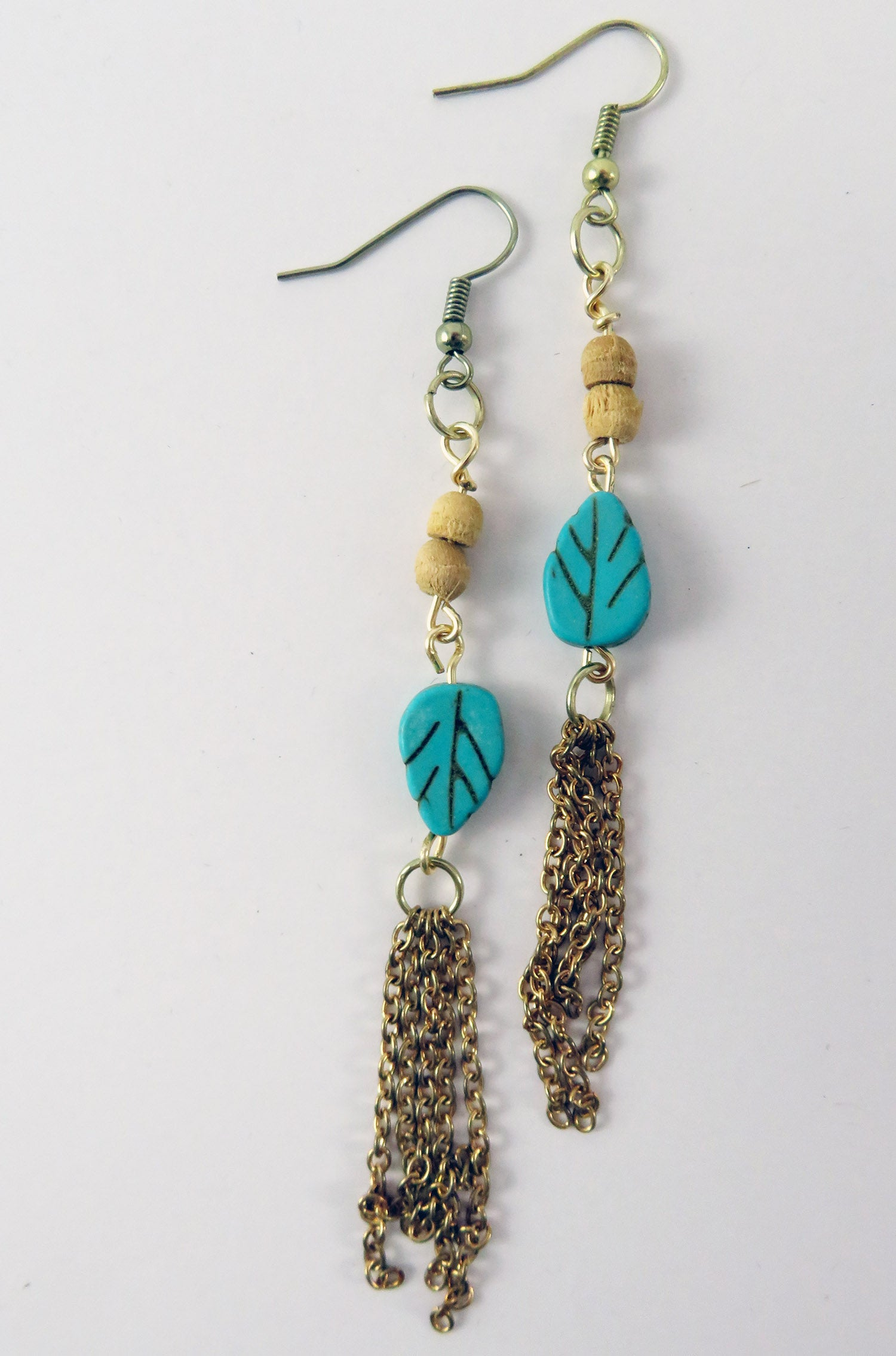 Handmade Jewelry Beaded Earrings Boho Women's Accessories Hammer and Heart Boutique Made in the USA Raleigh North Carolina Gifts for Her