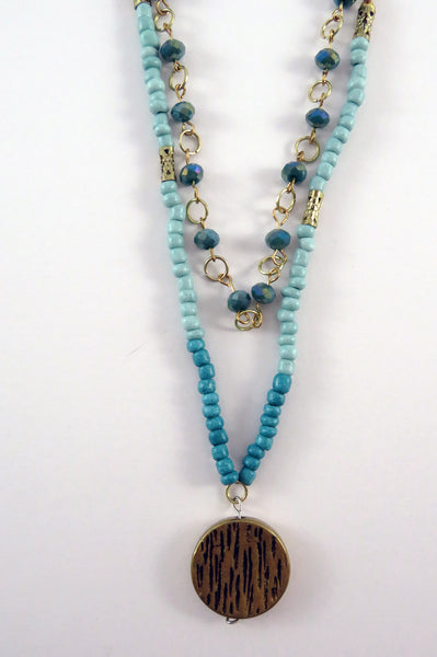 Hammer and Heart Boutique Handcrafted Women's Jewelry Made in the USA Beaded Necklace Gifts for her