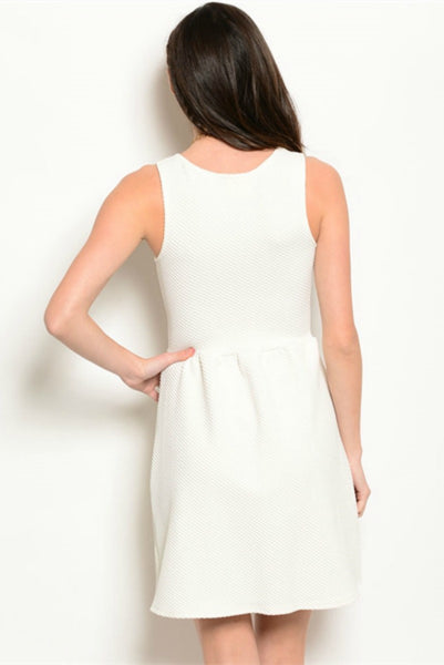 Women's White Dress Bailey Boutique