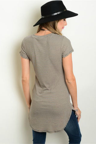 Bailey Stripped Tunic