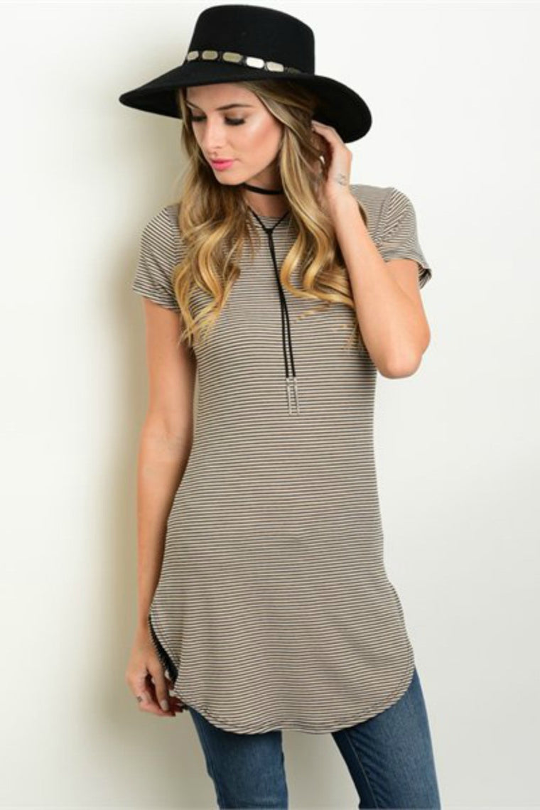 Bailey Striped Tunic