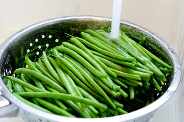 CLEAN AND TRIMMED GREEN BEANS 2/5#