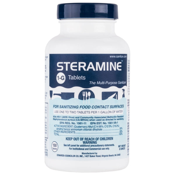 STERAMINE SANITIZER