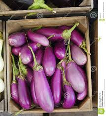 CHINESE EGGPLANT CRATE