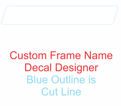 Custom Frame Name DESIGNER