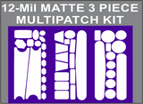 12 MIL MATTE THICK 3 PIECE MULTIPATCH KIT