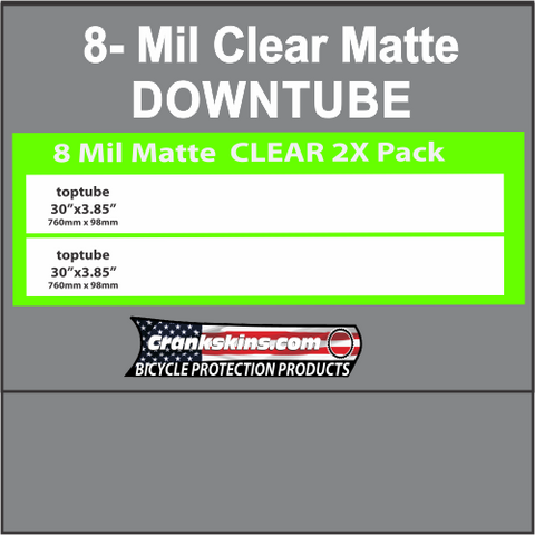 8 MIL MATTE DOWNTUBE KIT