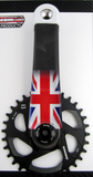 Crankskins Mini Custom with Country Flag