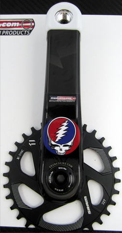 Crankskins Mini DEADHEAD with Logo