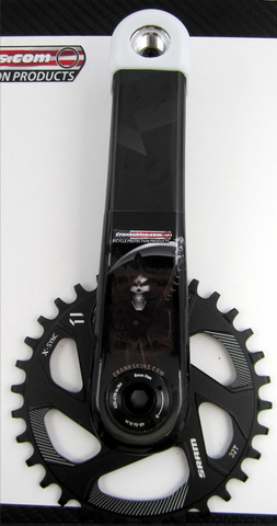 Crankskins Mini GRIM REAPER with Logo