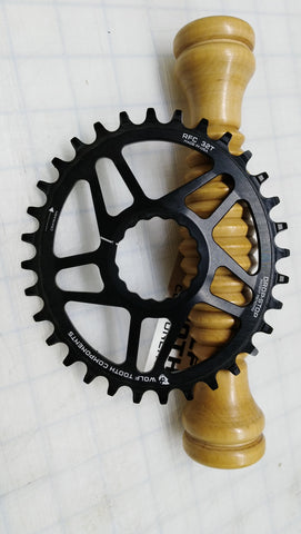 Wolf Tooth Components 32T Elliptical Direct Mount Chainrings for Race Face Cinch