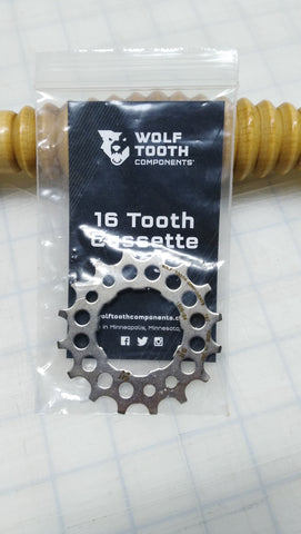 Wolf Tooth Components 16 Tooth Cog Replacement Shimano and Sram