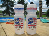 NEW!  Crankskins Custom Specialized Water Bottle Clear 24 oz BigMouth