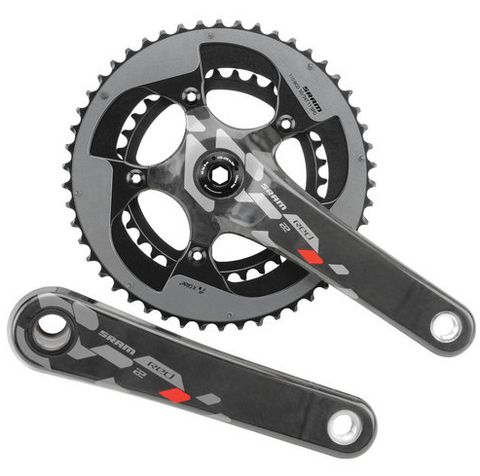 Clear Crankskins for SRAM Red 22