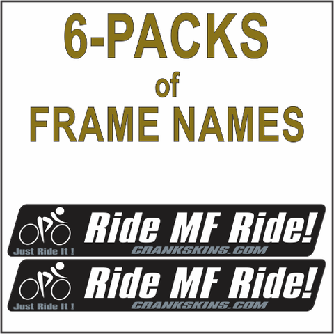 Frame Names 6-PACKS MF