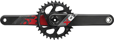 Clear Crankskins for SRAM X01 Eagle Carbon Boost Crankset