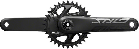 Clear Crankskins for TruVativ STYLO Carbon Eagle Crankset
