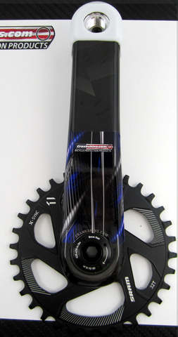 Crankskins Mini Vigilante BLUE with Logo
