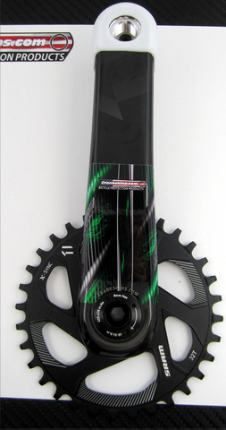 Crankskins Mini Vigilante GREEN with Logo