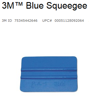 Installation Tool: 3M HAND APPLICATOR SQUEEGEES