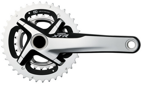 Clear Crankskins for Shimano XTR  FC-M980