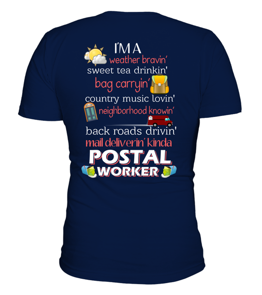 I'm A Postal Worker Shirt - Giggle Rich - 1