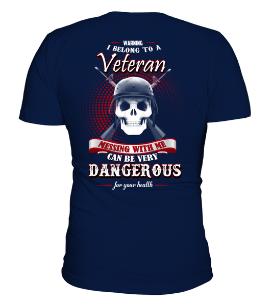 I Belong To A Veteran - Shirt Shirt - Giggle Rich - 1