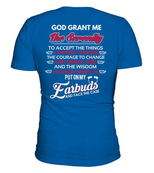 God Grants The Postal Worker With Serenity Shirt - Giggle Rich - 30