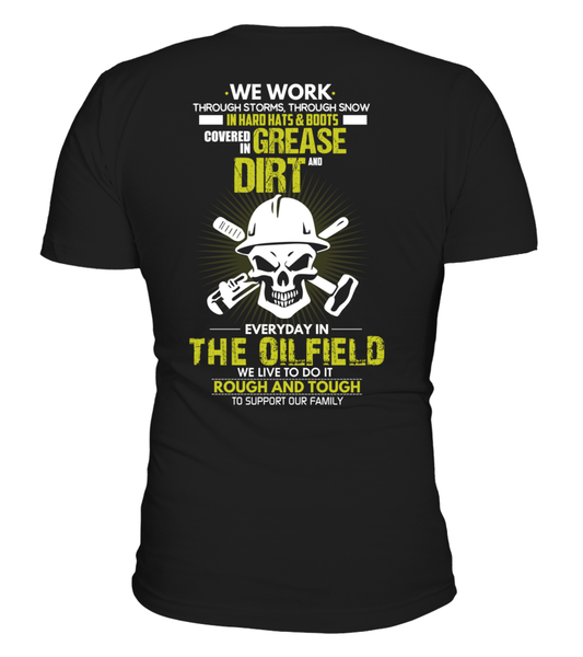 The Oilfield, Rough And Tough Shirt - Giggle Rich - 1