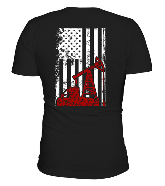 American Oilfield Worker Shirt - Giggle Rich - 3