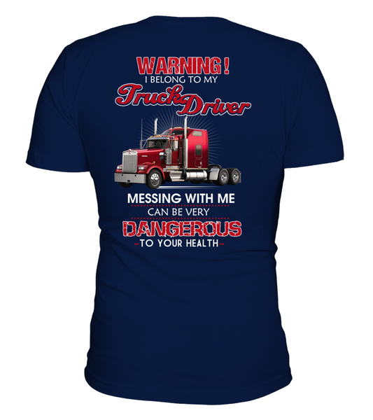 Don't Mess With Truck Driver Shirt - Giggle Rich - 4