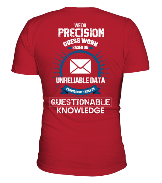 Postal Workers Do Precision Guess Work Shirt - Giggle Rich - 4