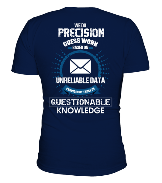 Postal Workers Do Precision Guess Work Shirt - Giggle Rich - 1