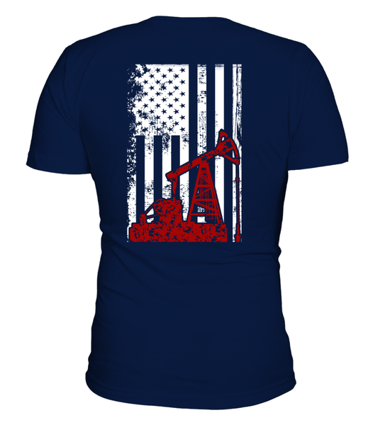 American Oilfield Worker Shirt - Giggle Rich - 2
