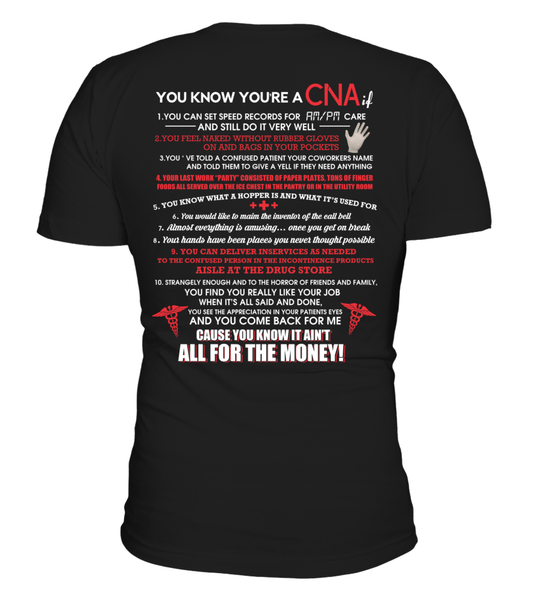 You Know You're A CNA If Shirt - Giggle Rich - 3