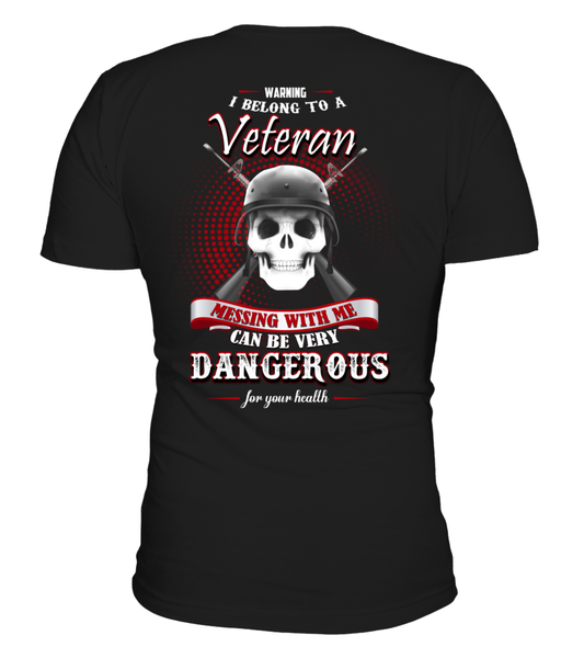 I Belong To A Veteran - Shirt Shirt - Giggle Rich - 2