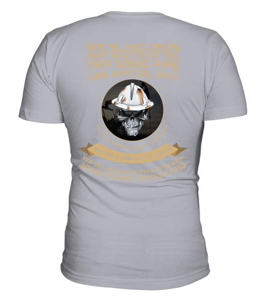 Roughnecks Rig Poem Shirt - Giggle Rich - 5