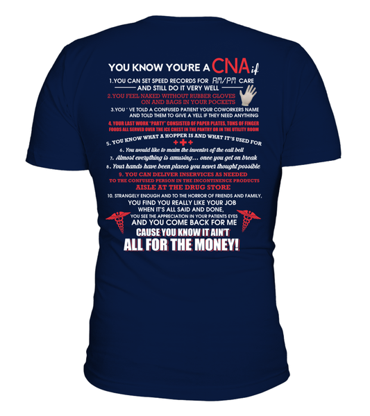 You Know You're A CNA If Shirt - Giggle Rich - 2