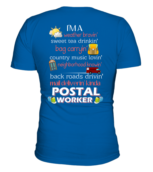I'm A Postal Worker Shirt - Giggle Rich - 3
