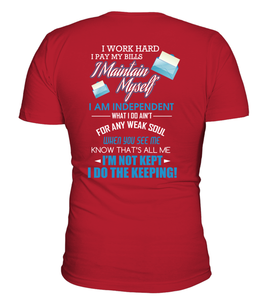 I Am An independent Postal Worker Shirt - Giggle Rich - 12