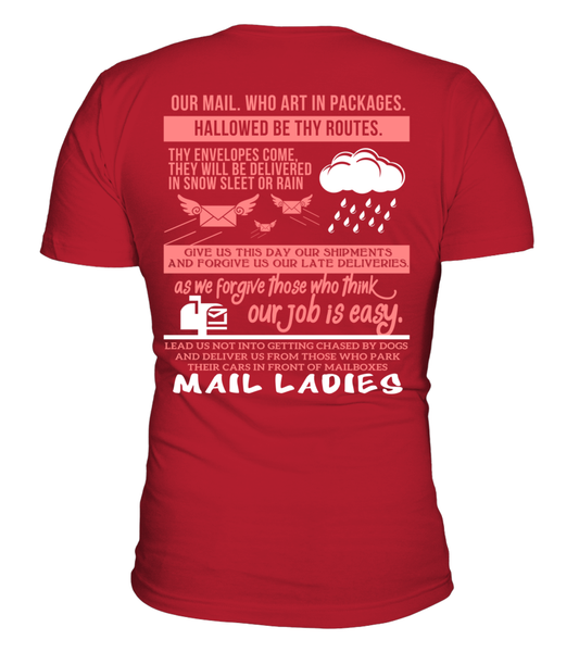 Mail Lady Prayer Shirt - Giggle Rich - 12